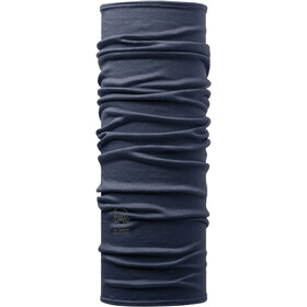 Buff Merino Wool Denim Neckwarmer solid denim